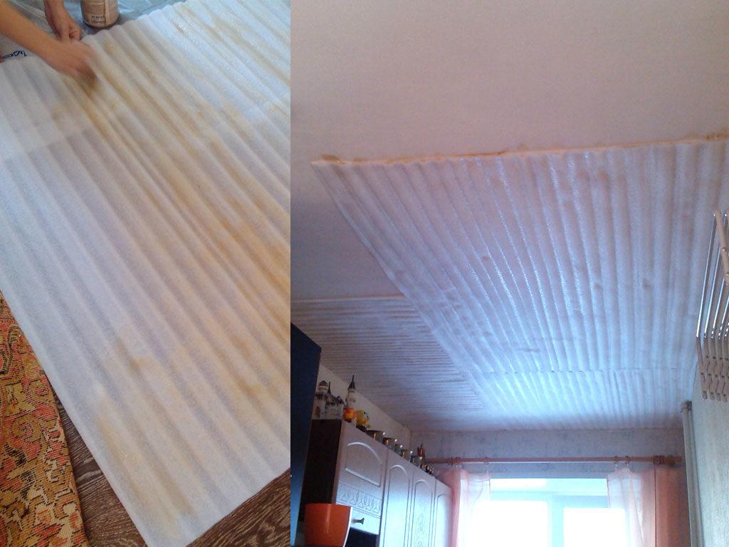 Дешевая шумоизоляция потолка